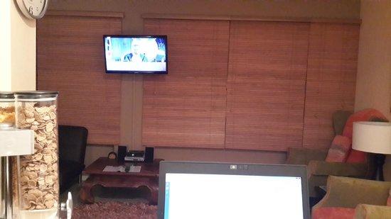 Secret Garden Guesthouse : Lounge TV side