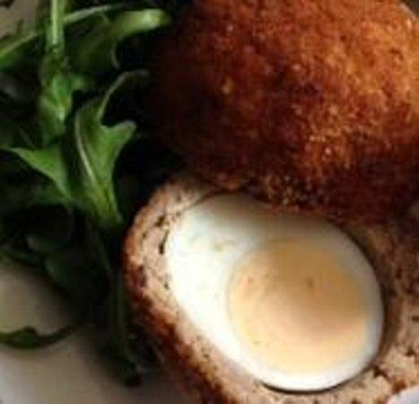 The Cardinal's Hat Inn: Handmade Scotch Egg