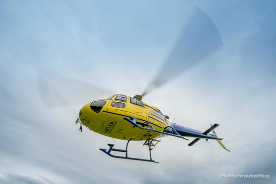 Helicopter Flight - Tours: Helikopter start