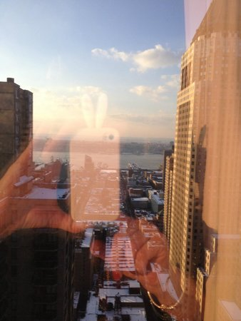 Crowne Plaza Times Square Manhattan : vista dalla stanza