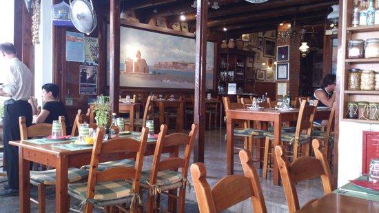 Taverna Othonas: L'interno