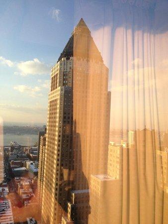 Crowne Plaza Times Square Manhattan: vista dalla stanza