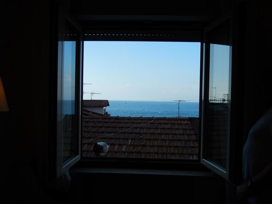 Hotel del Mare: View from our room - 3rd flr back