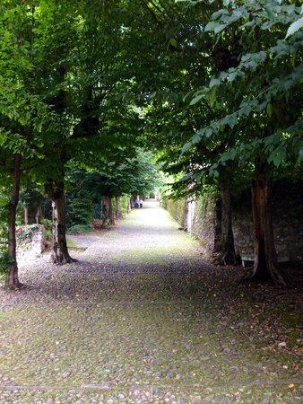 Sacro Monte di Orta: Weg auf den Sacro Monte
