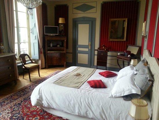 Chateau De La Houssaye: Chambre empire