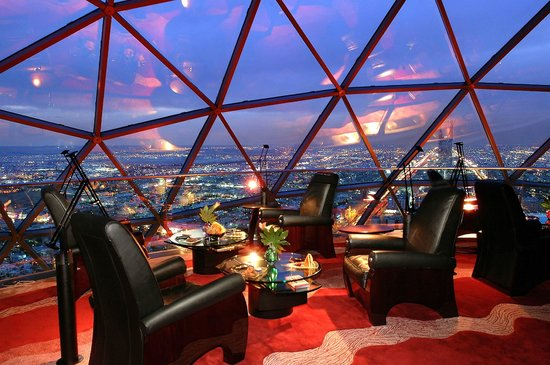Al Faisaliah Hotel : The Globe, Asir Lounge