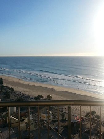 Surfers International: View from 15th floor