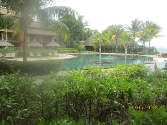 Heritage Awali Golf & Spa Resort : view from our room