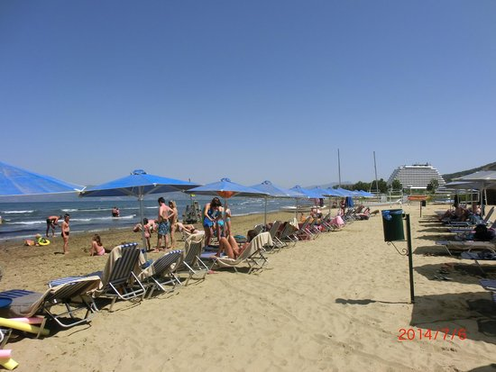 Aqua Fantasy Aquapark Hotel & SPA: Beach picture