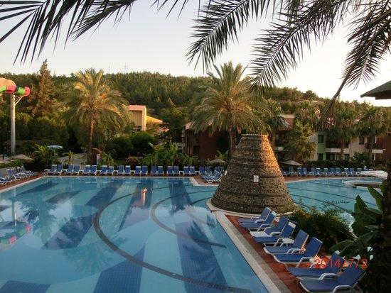 Aqua Fantasy Aquapark Hotel & SPA: View from Italian a la Carte