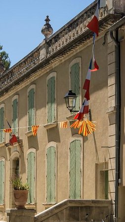 Chateau Eydoux : Het stadhuis