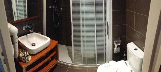 Hôtel la Brèche de Roland : bathroom
