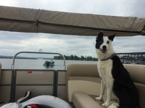 Moors Resort & Marina on Kentucky Lake: Iz had a great time, too!