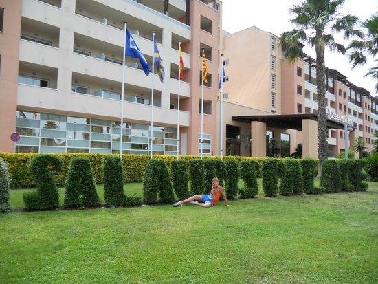 H10 Salauris Palace: Вид на отель