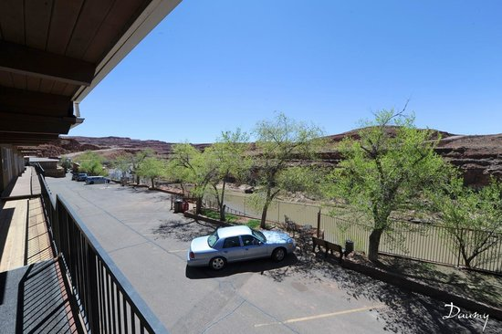 San Juan Inn : vue de notre chambre