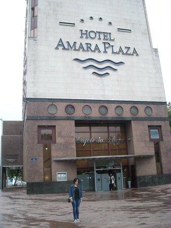 Silken Amara Plaza Hotel : Y otra de la puerta de la cafeteria !!