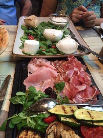 Obica Mozzarella Bar: Our Mozzarella tasting lunch at Obika
