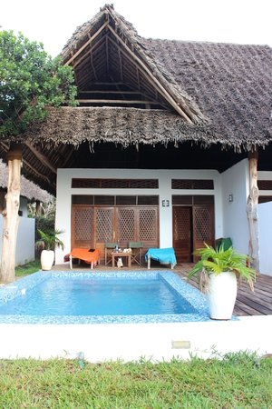 Pongwe Beach Hotel : Sea view suite 19 outside
