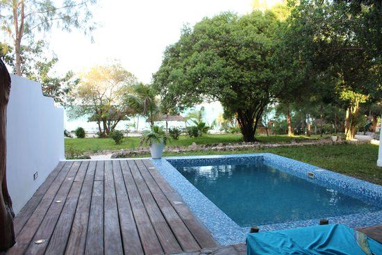 Pongwe Beach Hotel: View from sea view suite 19