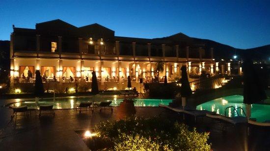 Mitsis Lindos Memories Resort & Spa : Abendstimmung