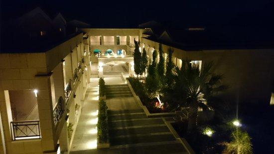 Mitsis Lindos Memories Resort & Spa: Abendstimmung