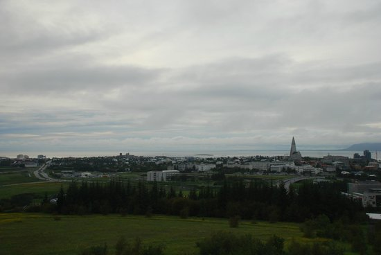Lost In Iceland Tours: View over Rekjavik from the pearl