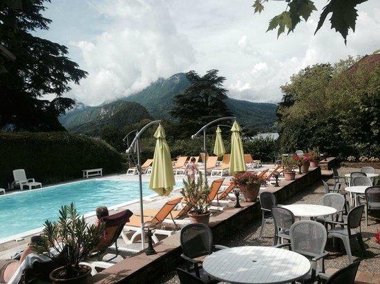 Hotel du Lac : бассейн