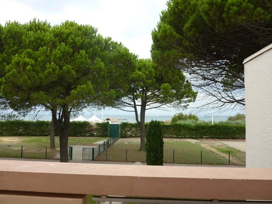 Lagrange Confort+ Residence Village Club de Camargue : Vue depuis le balcon
