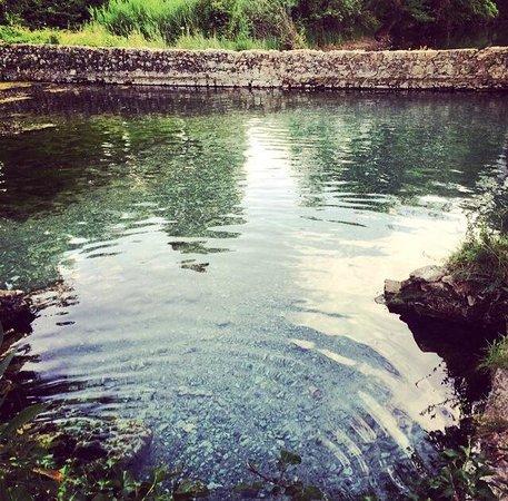 Le Caldane: Acqua limpida