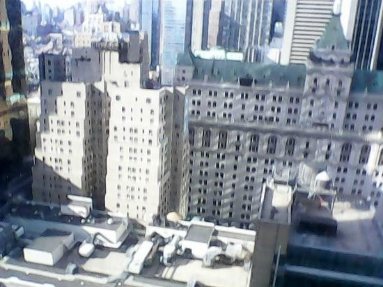 Hilton Times Square: View from 31st floor
