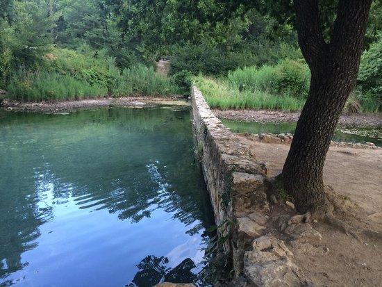 Le Caldane: Vasca naturale