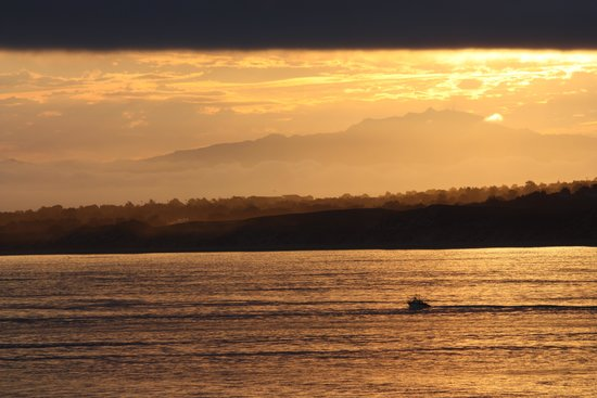Monterey Plaza Hotel & Spa: Ocean view (sunrise)