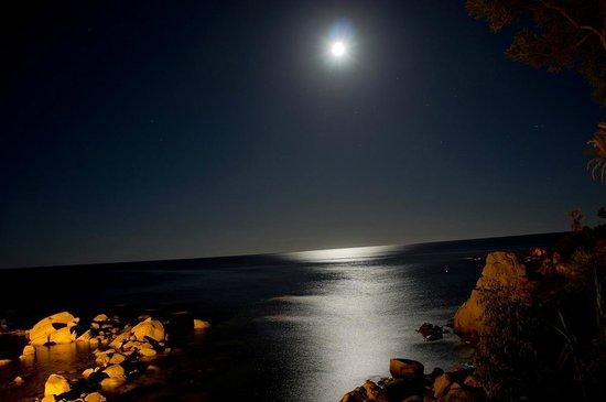 Arbatax Park Resort - Cottage: panorama notturno dal passaggio per la spiaggia!