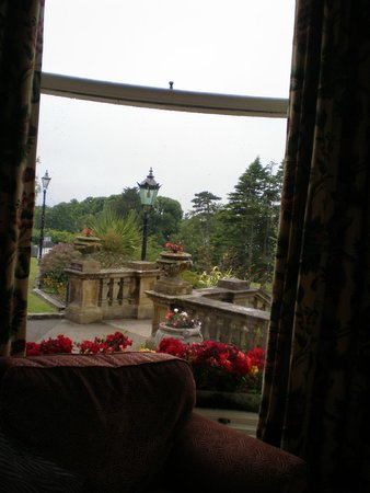 Culloden Estate & Spa: inside looking out !