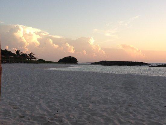 Melia Buenavista: Une des trois plages avant le couché du soleil