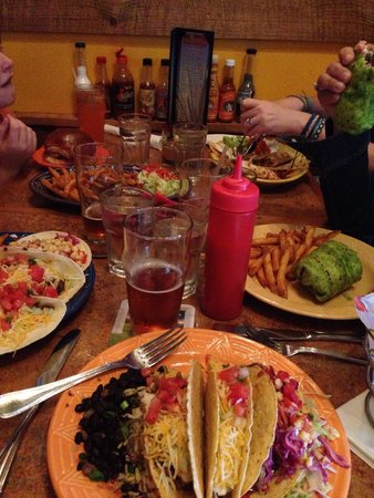 Del Fuego: friends and family meal time