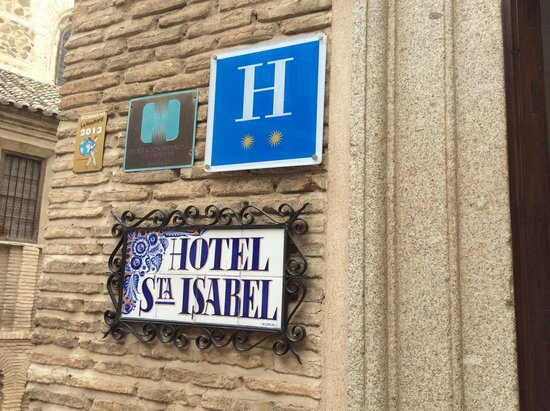 Hotel Santa Isabel: Вход