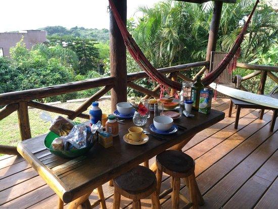 Soas Cabanas : Café da manhã