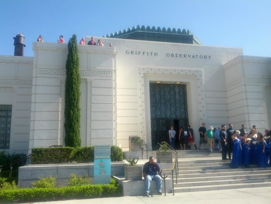 Observatoire Griffith : Front of Observatory