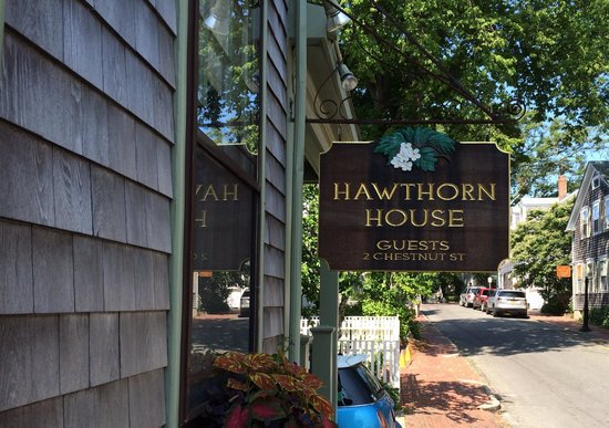 Quaint Hawthorn House in Nantucket, MA.