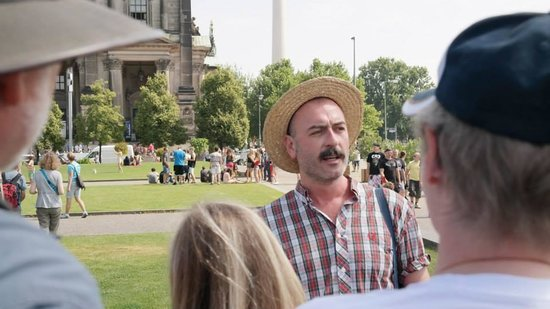 Original Berlin Walks: Our tour guide Ryan