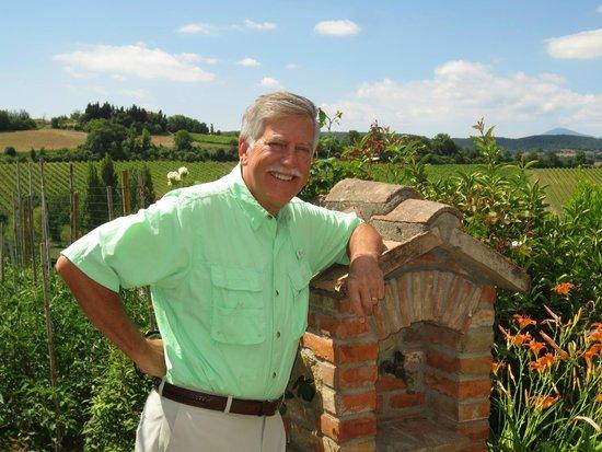Relais Ortaglia : View of the vineyard