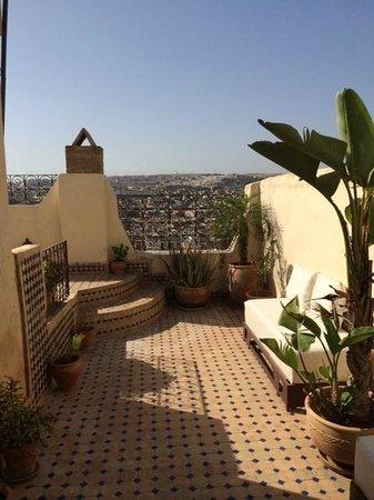 Riad Dar Tafilalet: Terrace 2