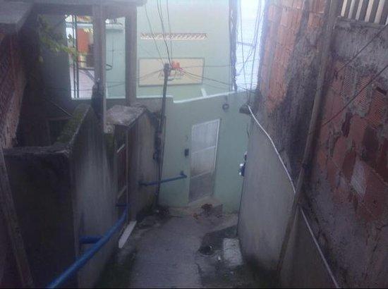 Varandas do Vidigal Hostel & Lounge: Front view of the Varandos do Vidigal Hostel Rio