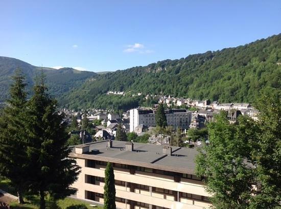 Hotel Le Panorama : vue depuis la chambre