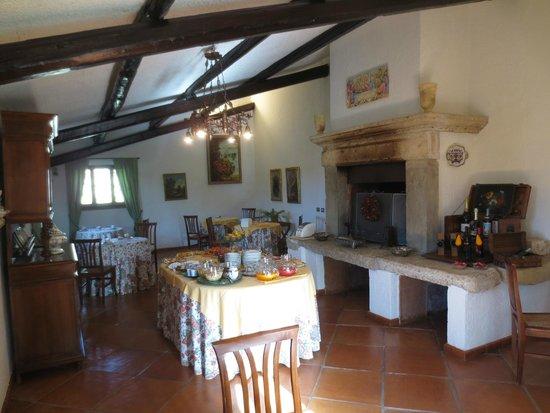 Relais Ortaglia : Dining area for breakfast