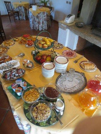 Relais Ortaglia : Breakfast Spread