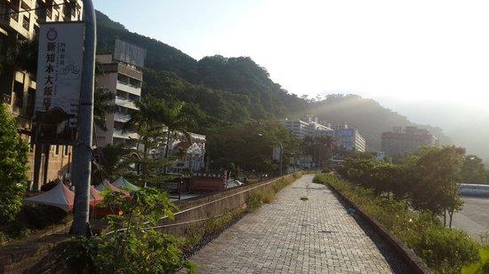 Hoya Hot Springs Resort & Spa: 一個人走走~