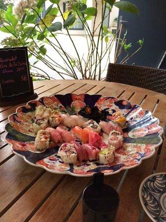 Kaiseki Sushi : Premier menu, à 55 euros le soir