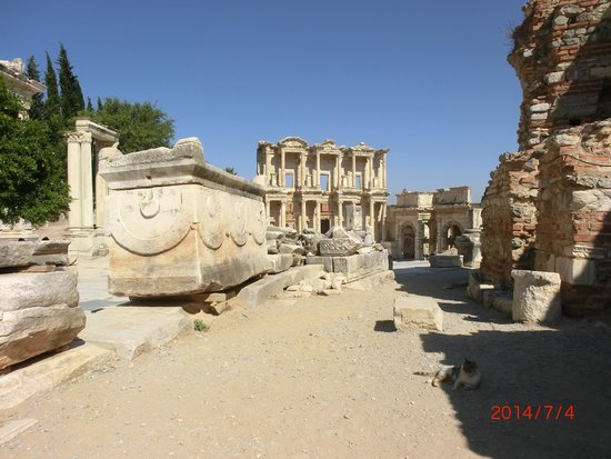 Ancient City of Ephesus: Part of the ruins